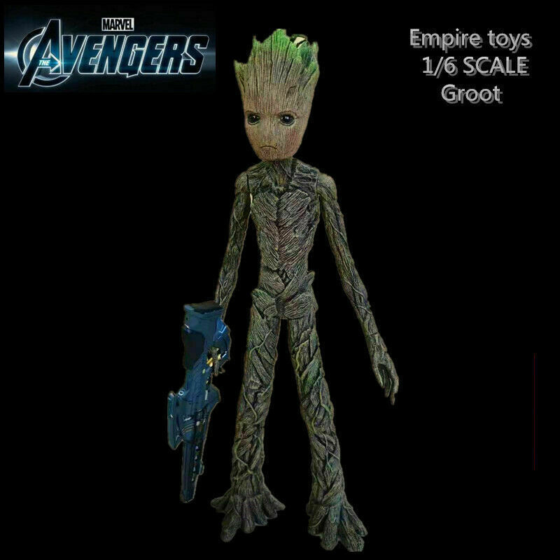 6/'/' Baby Groot Guardians of the Galaxy PVC Groot Action Statue Figure Toys Gift