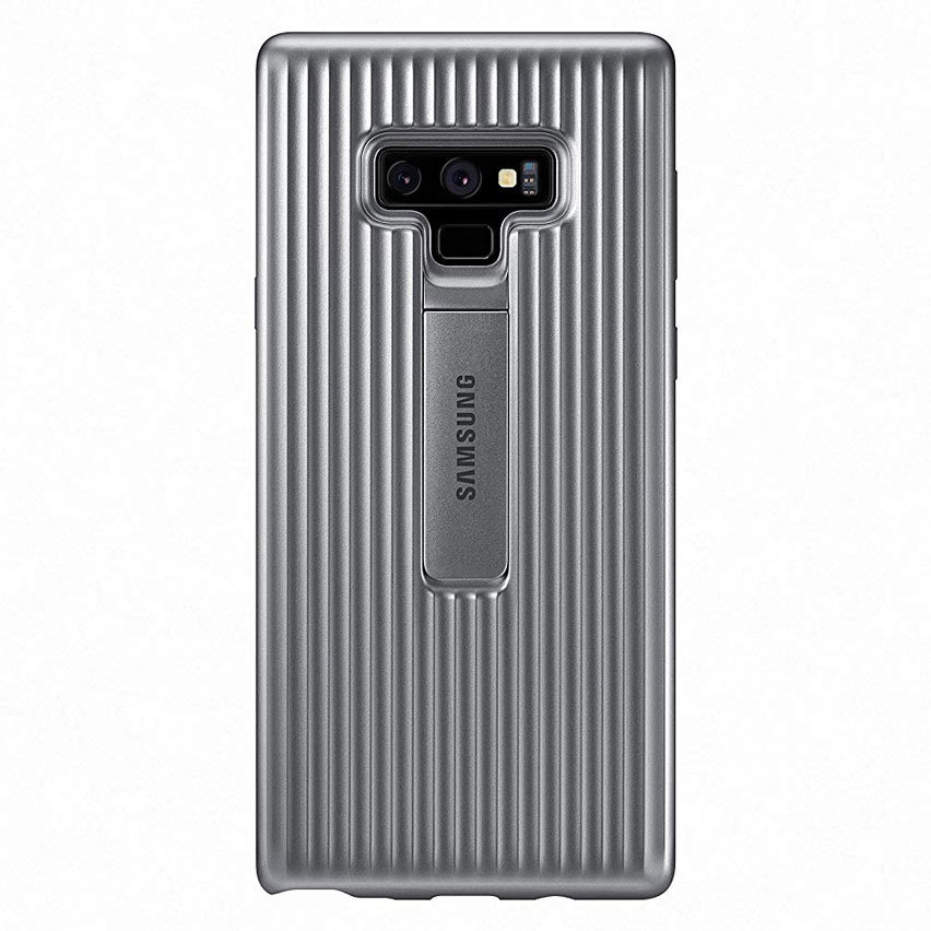 Official Samsung Galaxy Note 9 Protective Stand Cover Case - Grey