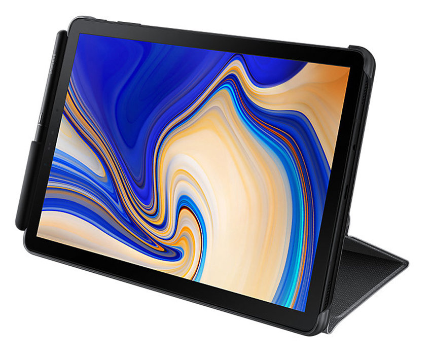 Official Samsung Galaxy Tab S4 Book Cover Case - Black
