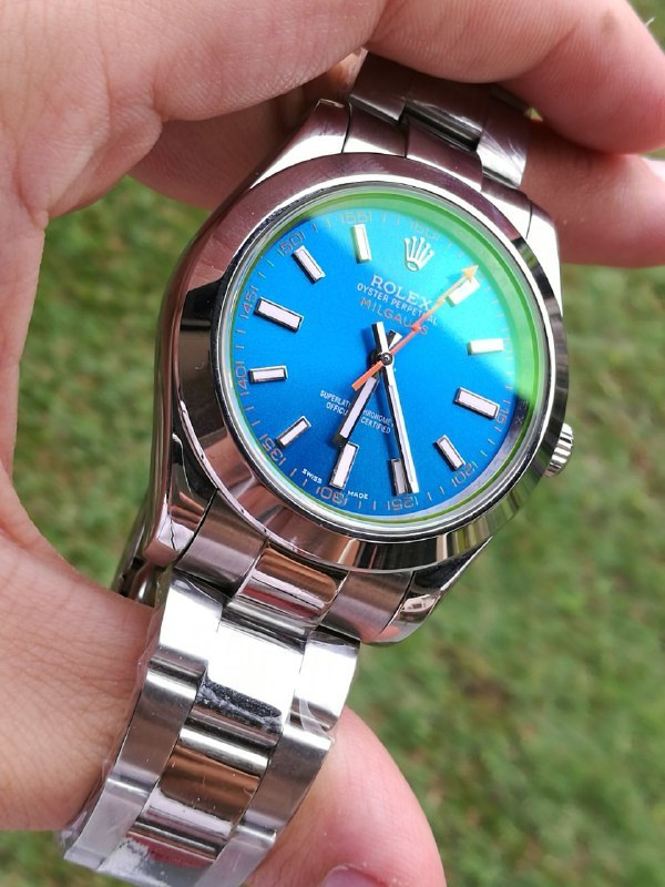 RLX0113 Rolex Milgauss Z,Blue Watch , Swiss Case