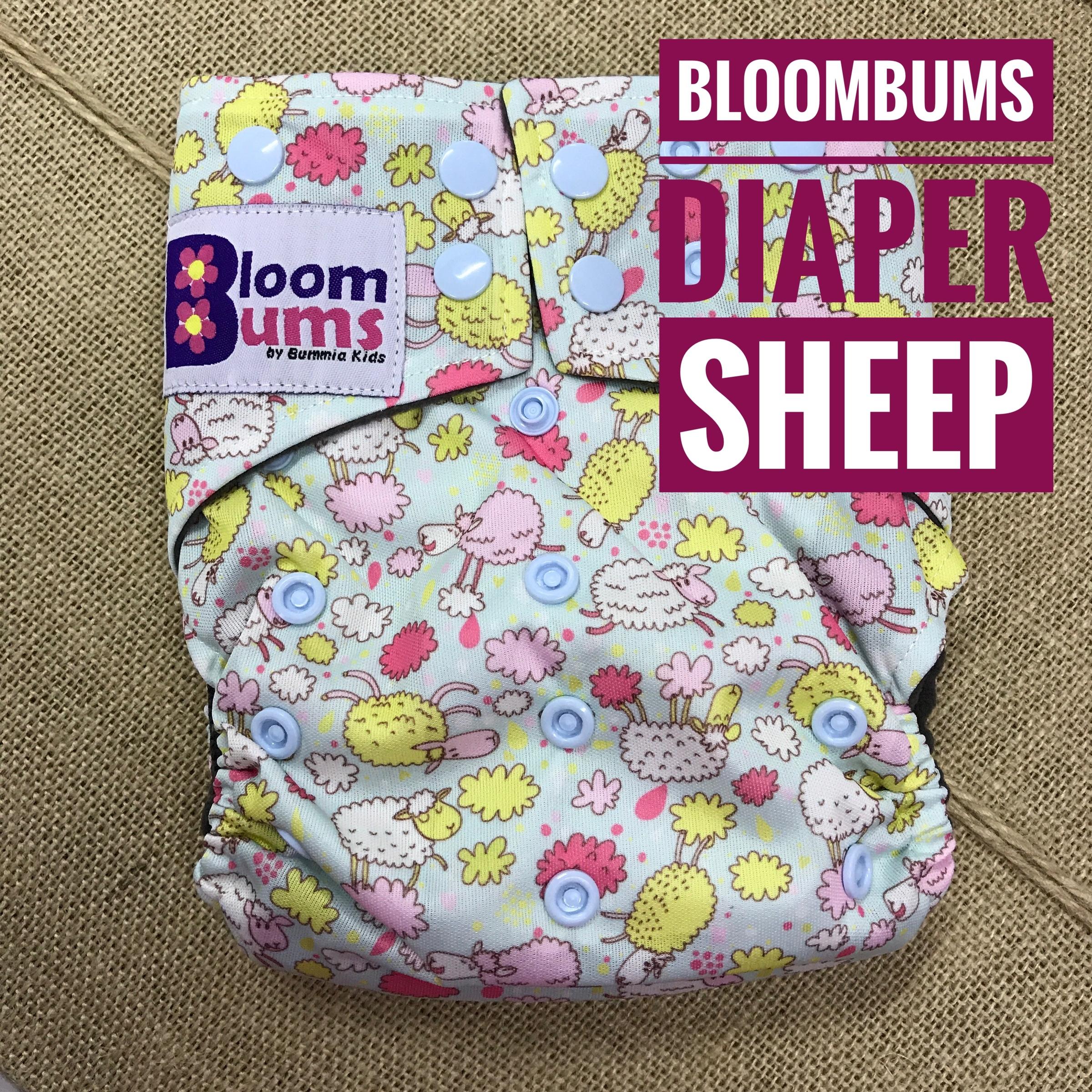 Bloombums Starter 6 Pcs Free Wetbag Bummia Kids