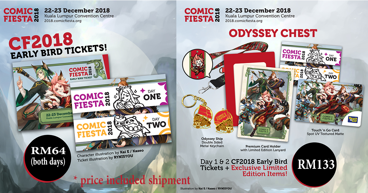 Comic Fiesta Tickets