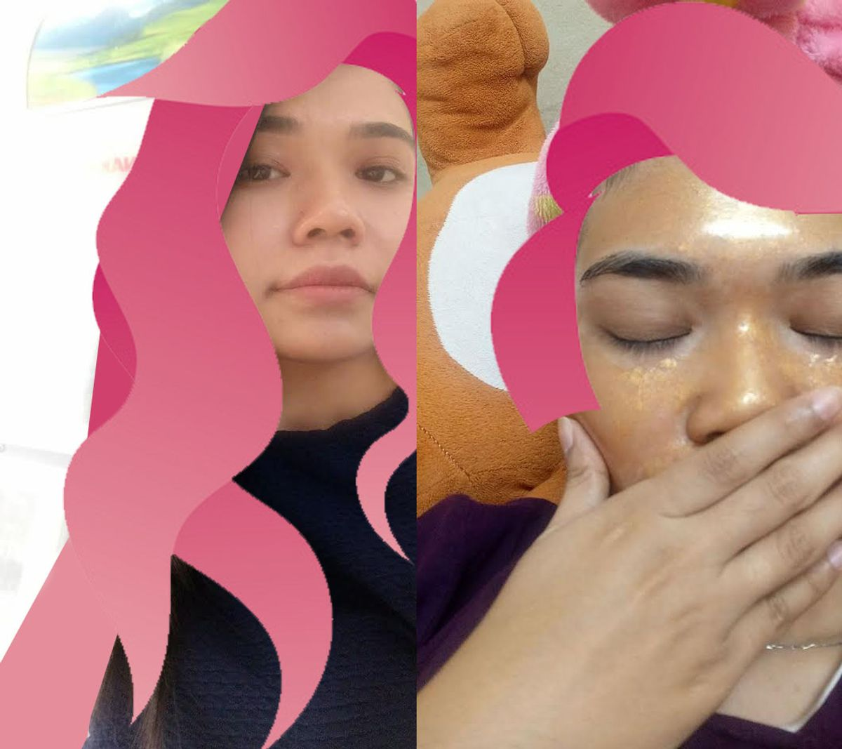 """""""I felt insecure & tak confident with myself"""" by Echa Aan"""