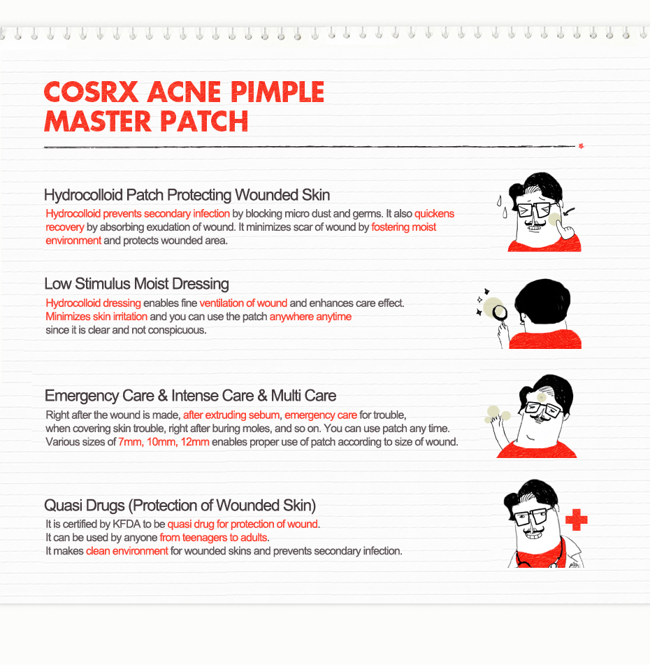Image result for Cosrx Acne Pimple Master Patch 24 patch