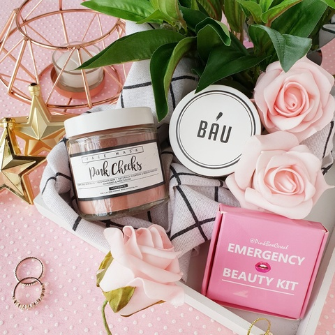 Bau Bathe - Pink Cheeks Rose Face Mask (Nourishing).jpeg