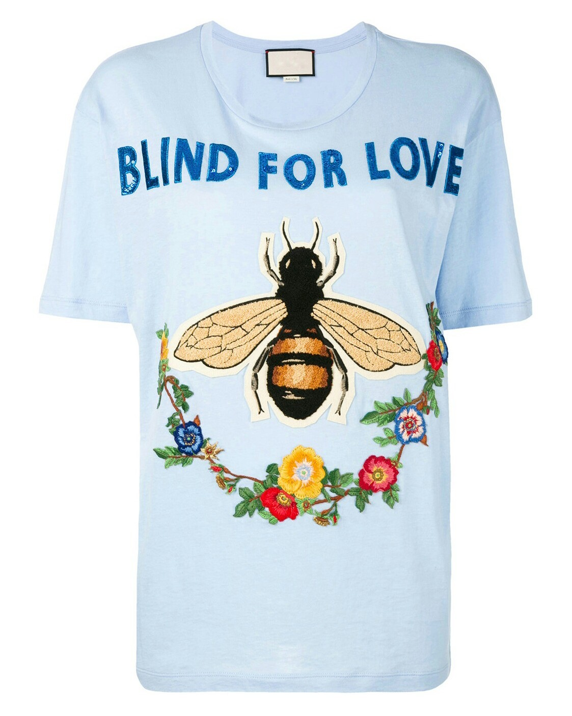 987964eff ... Blind For Love Bee Embroidered T-shirt. 12053337_9886896_1000-01-1.jpg