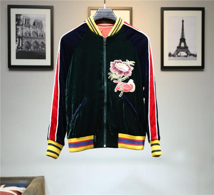 Indie Designs Green Embroidered Bomber Jacket U2013 Indie Designs Clothing