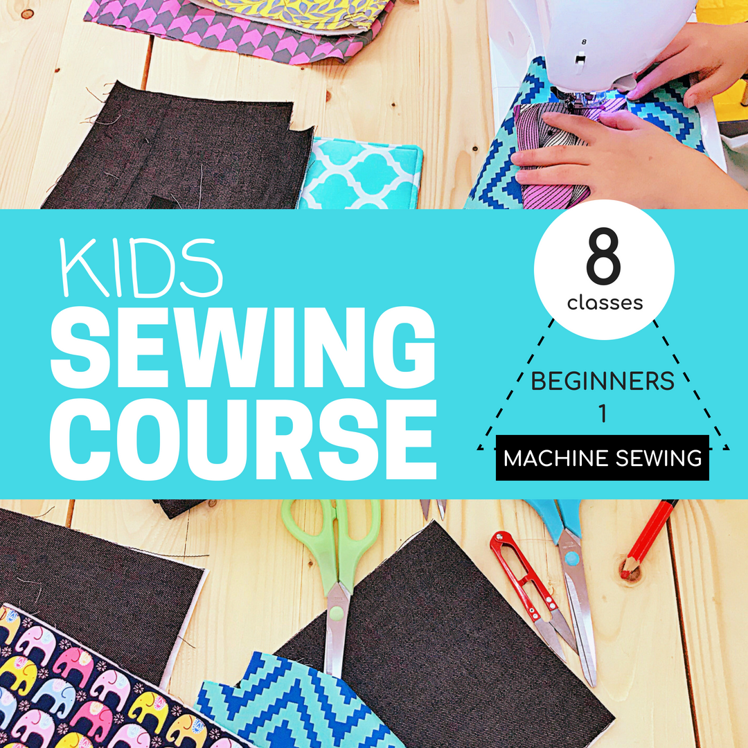 Kids Sewing Course Beginners 1 Machine Sewing 8 Classes