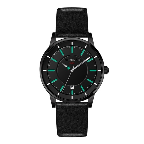 Nordic Chronos Leather Watches Green.jpg