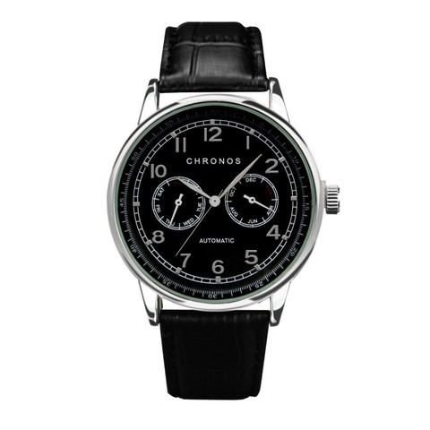 Dual Chronos Leather Watches Full Black.jpg