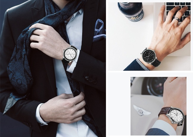 Dual Chronos Leather Watches Full Black 2.jpg