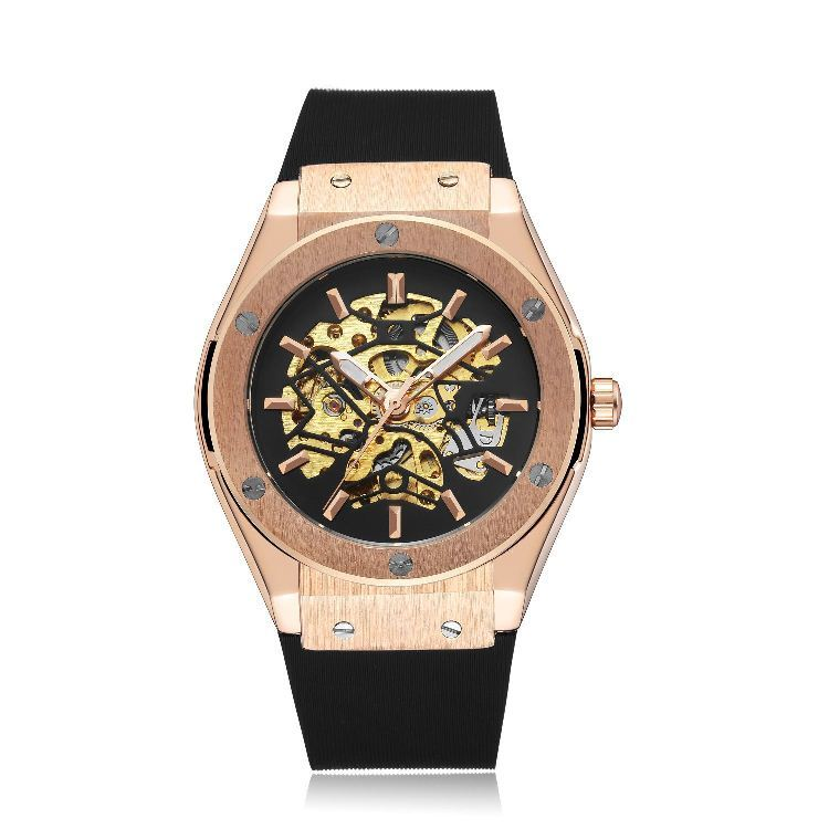 Mechano Mechanical Watches Gold Black.jpg