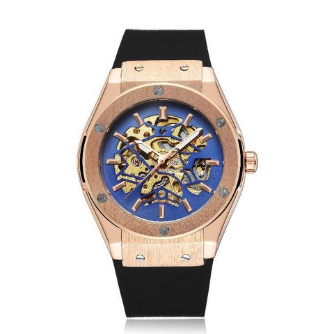 Mechano Mechanical Watches Gold Blue.jpg