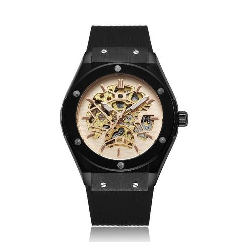 Mechano Mechanical Watches Black Gold.jpg
