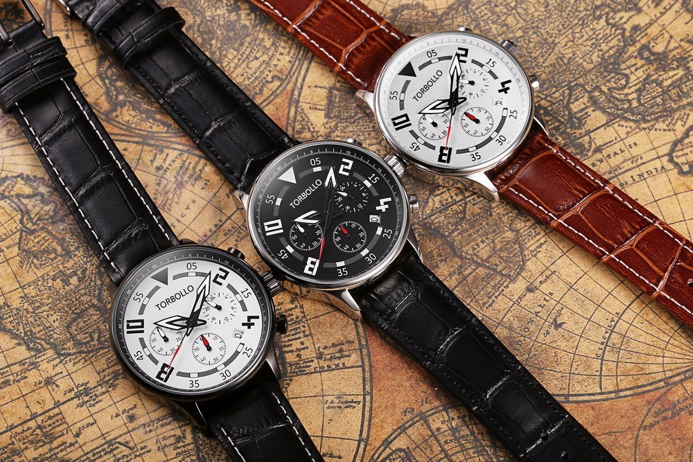 Gent V2 Chronograph Leather Watches Series.jpg