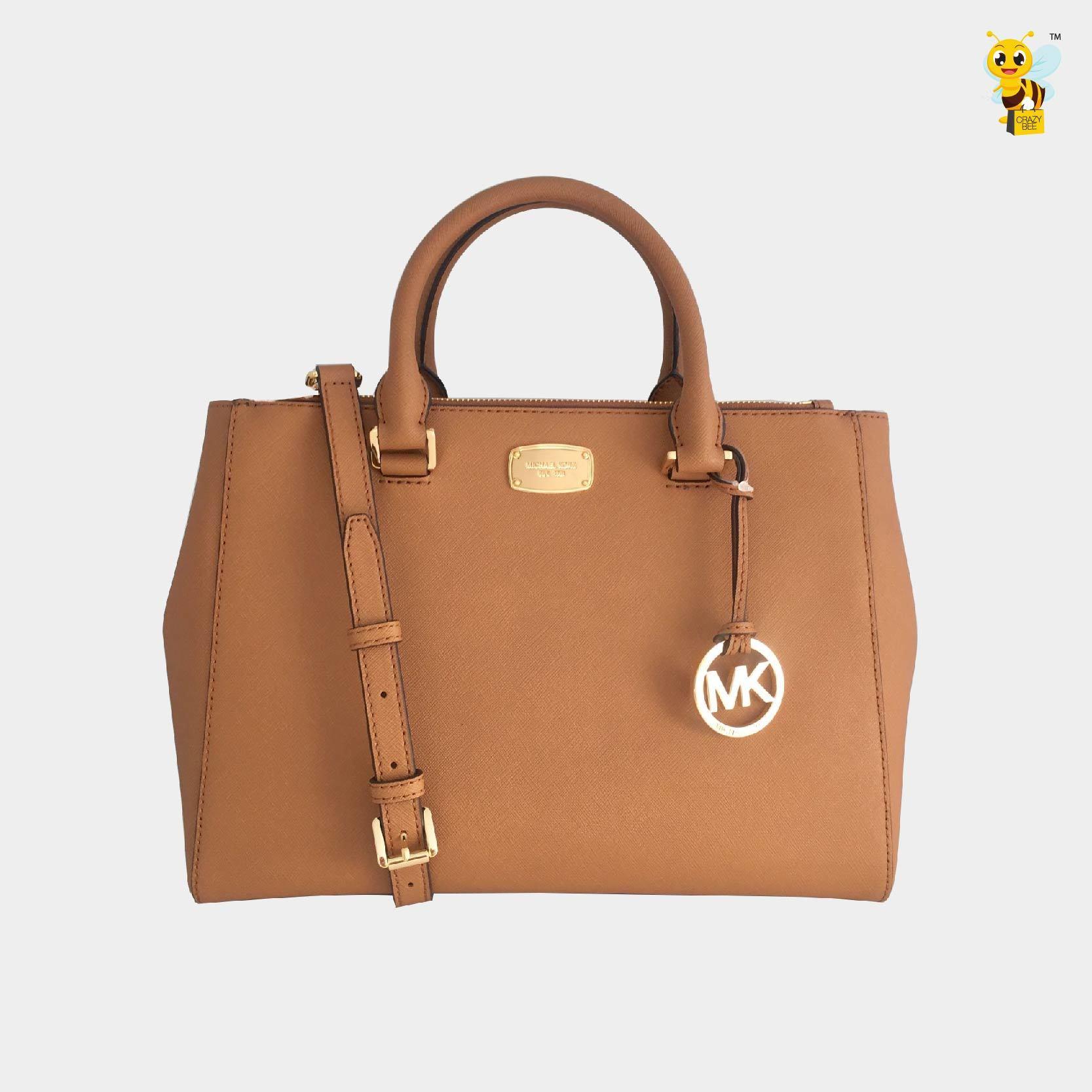 fef032b75ce8 MICHAEL KORS  PRE-ORDER  Kellen Medium Satchel Leather Handbag ...