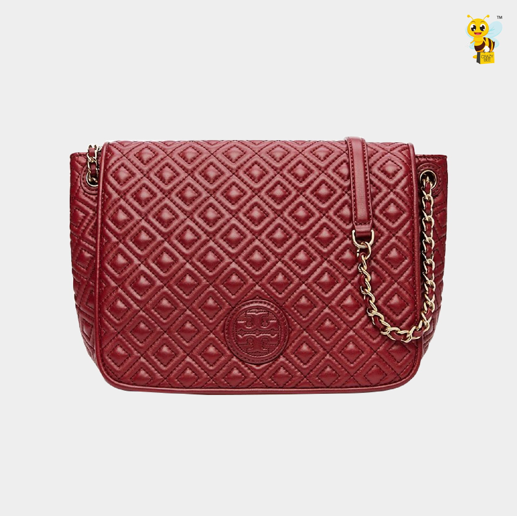 Tory Burch Pre Order Marion Quilted Shoulder Bag Red