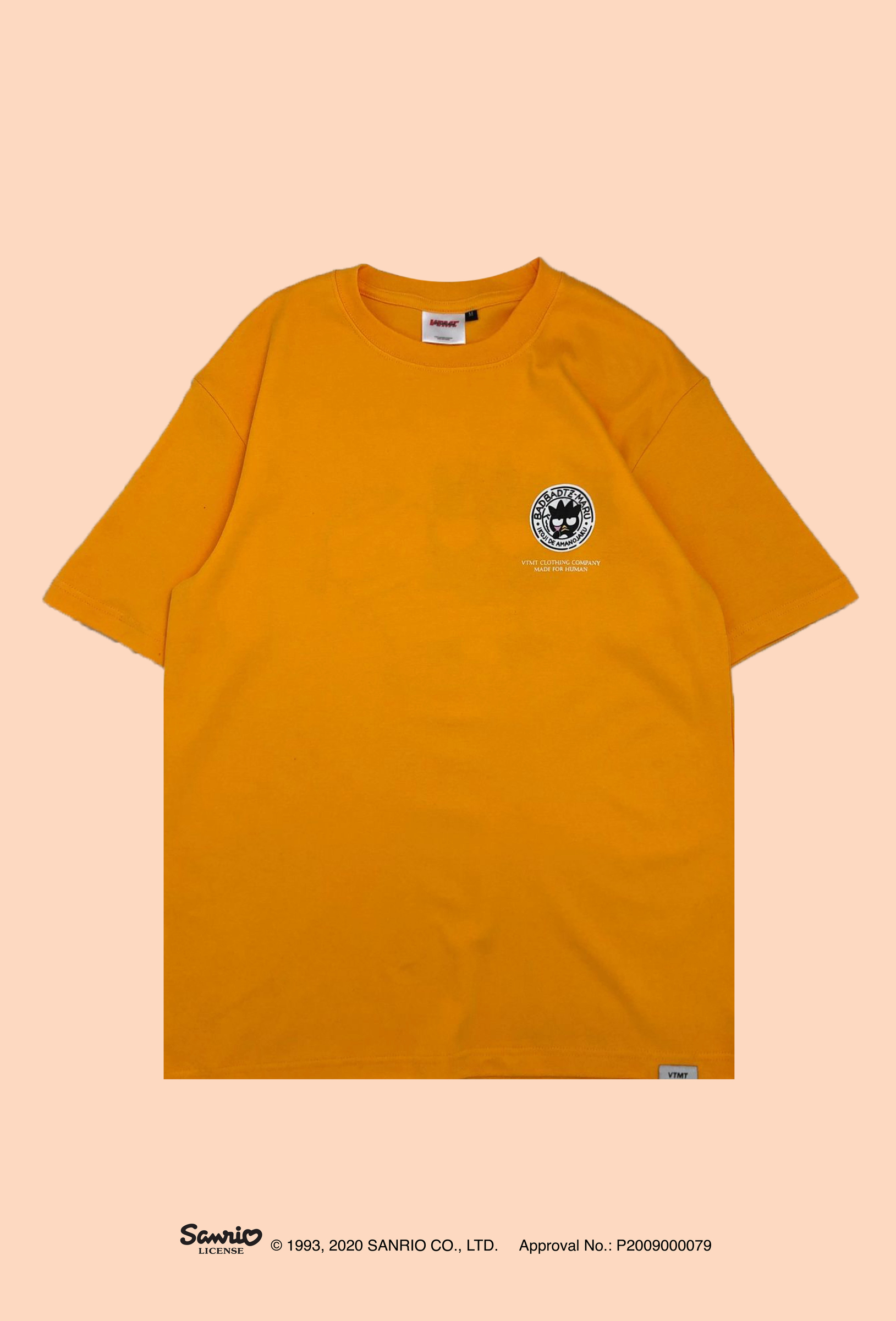 XO Stamp Tee Gold front-01.jpg