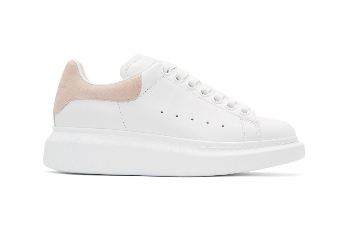Pink Oversized Sneakers Alexander McQueen Free Shipping 100% Guaranteed Cheap Low Cost Clearance Cheapest Price Outlet Shop For d1N6dn5e