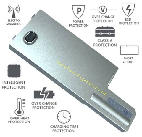 BATTERY DELL LATITUDE D820 D830 DF192 CF623.jpg