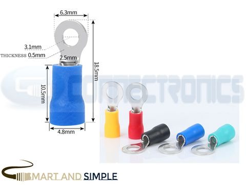 Ring Terminals Crimp Connector Ring Tongue Terminal 16-14AWG 1.5-2.5mm2 SS-RV2-3 for M3 screw copy.jpg