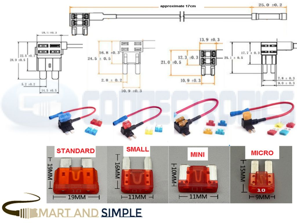 Standard small  mini micro Blade Fuse Tap Holder Quick Joint Cable copy.jpg