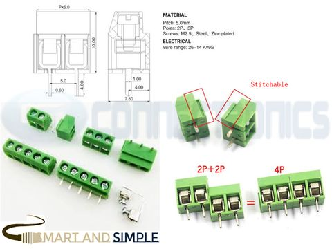 Wire-To-Board PCB Screw Terminal Block 5.00   mm 26-14 AWG SS-126  2P 3P copy.jpg