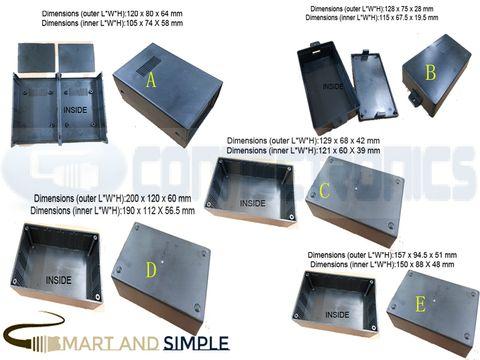 Plastic Electronic Project Box Enclosure Instrument case DIY above L 10cm copy.jpg
