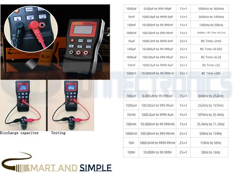 High Precision Auto Ranging LC Meter Professional Capacitance Inductance Table 500 KHz Capacitance Meter  SS-MLC500 copy.jpg