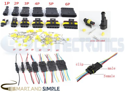 Automotive waterproof connector 1.5 series connector AMP male and female plug copy.jpg