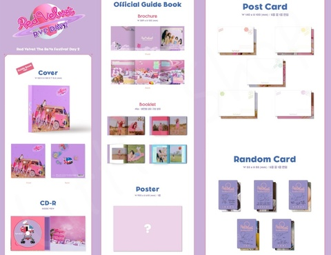 K1074a Red Velvet - Mini Album [The ReVe Festival Day 2] (Guide Book Ver.)-sidea.jpg