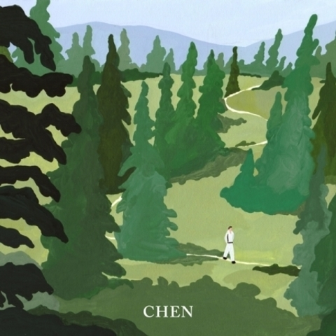 K1001a - CHEN - Mini Album Vol.1 [April, and a flower].jpg
