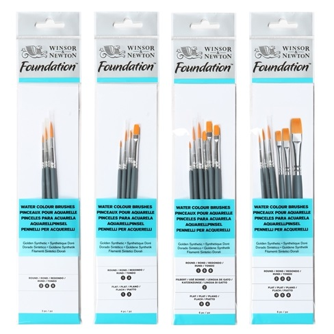 W&N FOUNDATION WATER COLOUR BRUSH PACK SETS.jpg