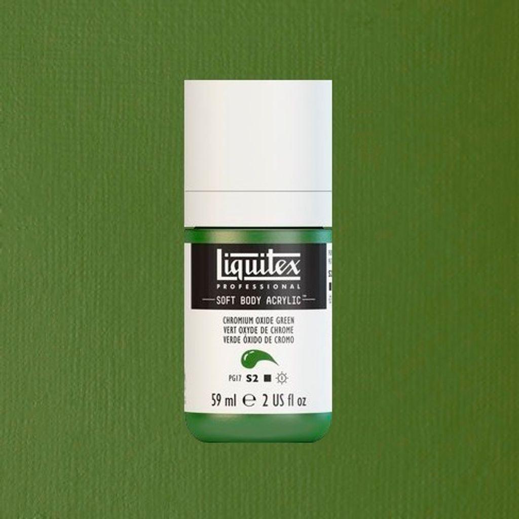 Liquitex Soft Body CHROMIUM OXIDE GREEN.jpeg