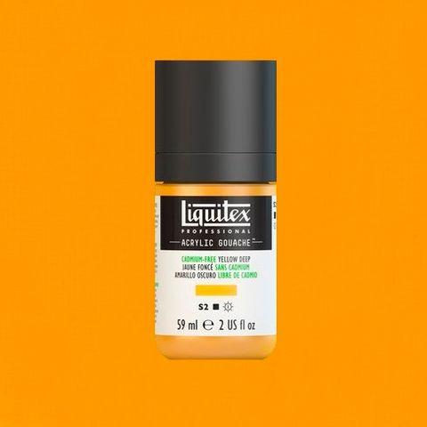 LIQUITEX ACRYLIC GOUACHE 59ML - CADMIUM-FREE YELLOW DEEP 891.jpeg