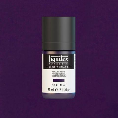 LIQUITEX ACRYLIC GOUACHE 59ML - DIOXAZINE PURPLE 186.jpeg