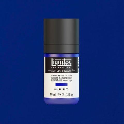 LIQUITEX ACRYLIC GOUACHE 59ML - ULTRAMARINE BLUE RED SHADE 382.jpeg