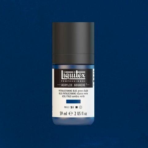 LIQUITEX ACRYLIC GOUACHE 59ML - PHTHALOCYANINE BLUE (GREEN SHADE) 316.jpeg