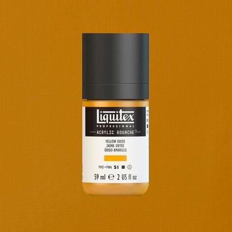 LIQUITEX ACRYLIC GOUACHE 59ML - YELLOW OXIDE 416.jpeg