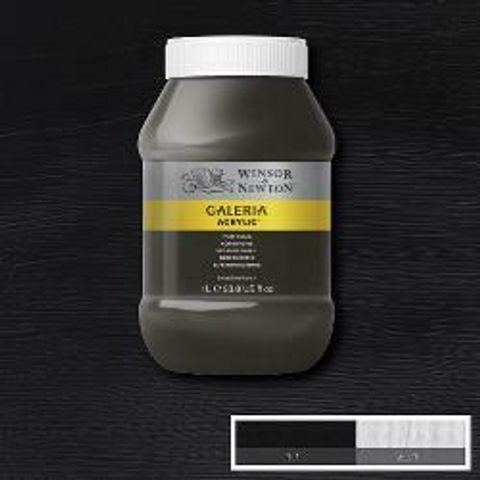 094376984910-W&N GALERIA ACRYLIC POT 1L IVORY BLACK [COMPOSITE] 094376984910.JPG