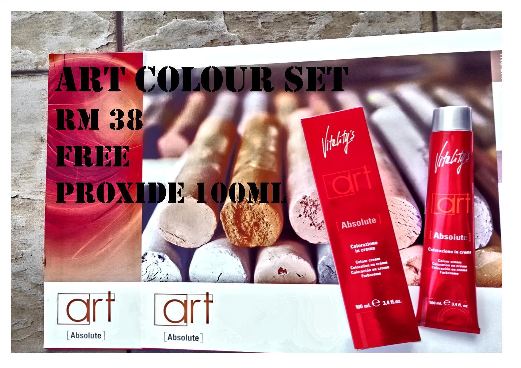 Vitality's Absolute Art Colour Cream 100ML Art Colour Set