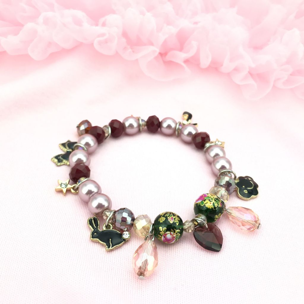 Charm Bracelet with a Whimsical Design