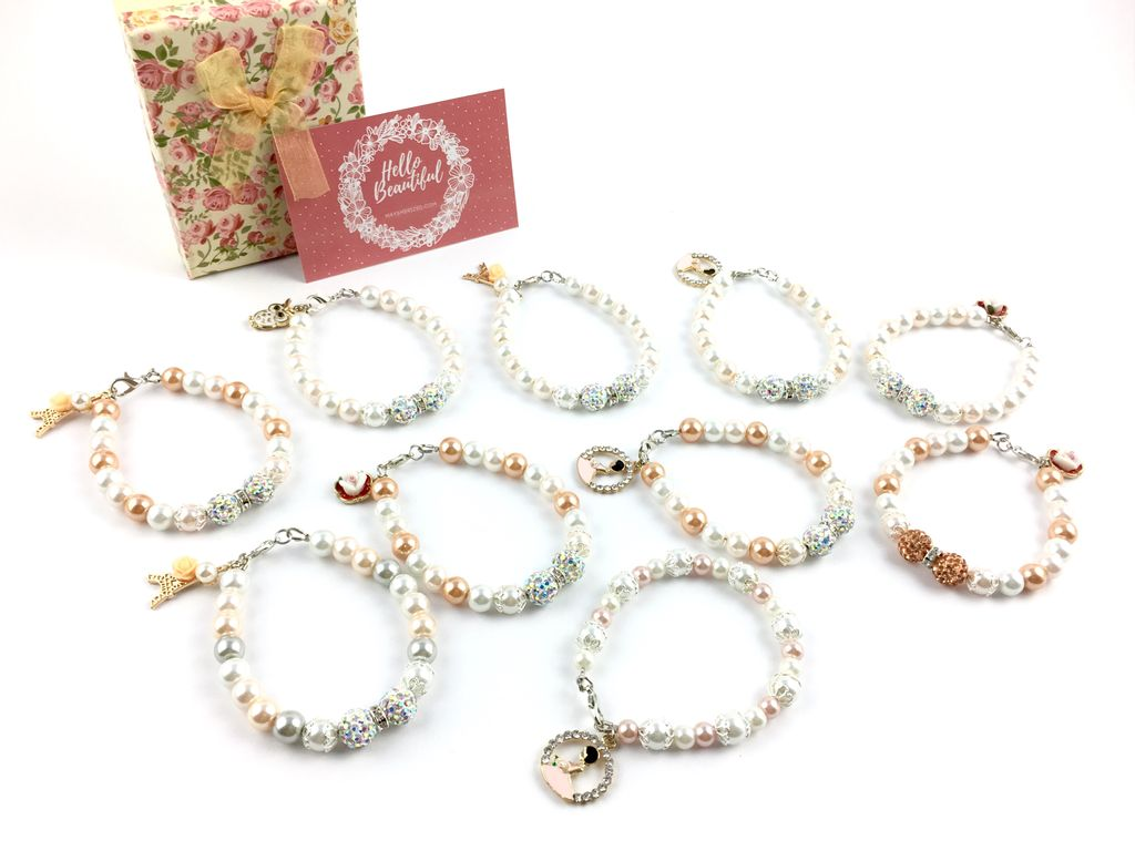 Cherish Your Besties on Your Wedding Day with Personalized Bridesmaids Bracelets
