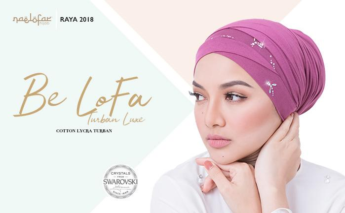 BE LOFA TURBAN LUXE