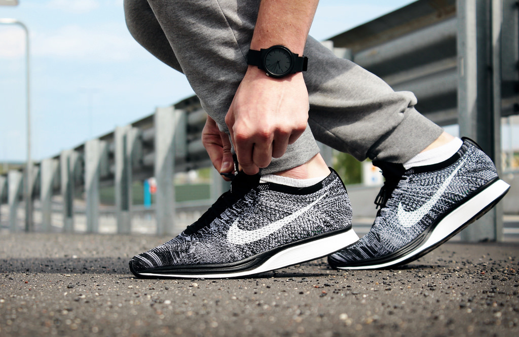 sports shoes 339d7 ca979 Flyknit Racer Oreo 2.0