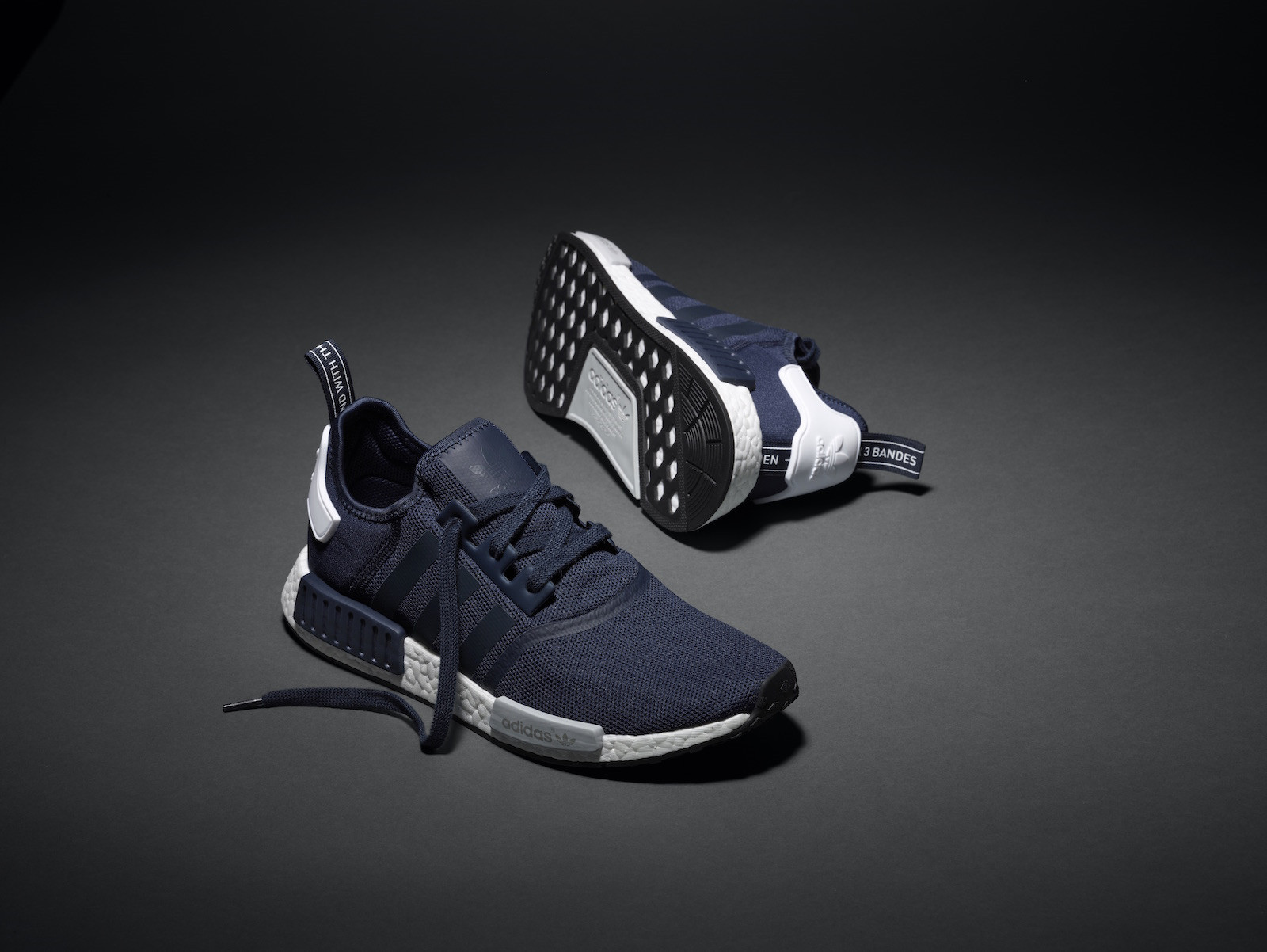 """c33f970a3af1e NMD R1 """"Navy White"""" – Vander Sneakers"""