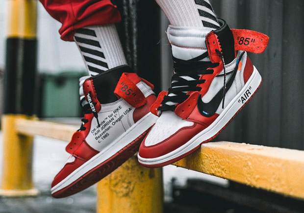 OFF-WHITE x Air Jordan 1 – Vander Sneakers  895ef775e