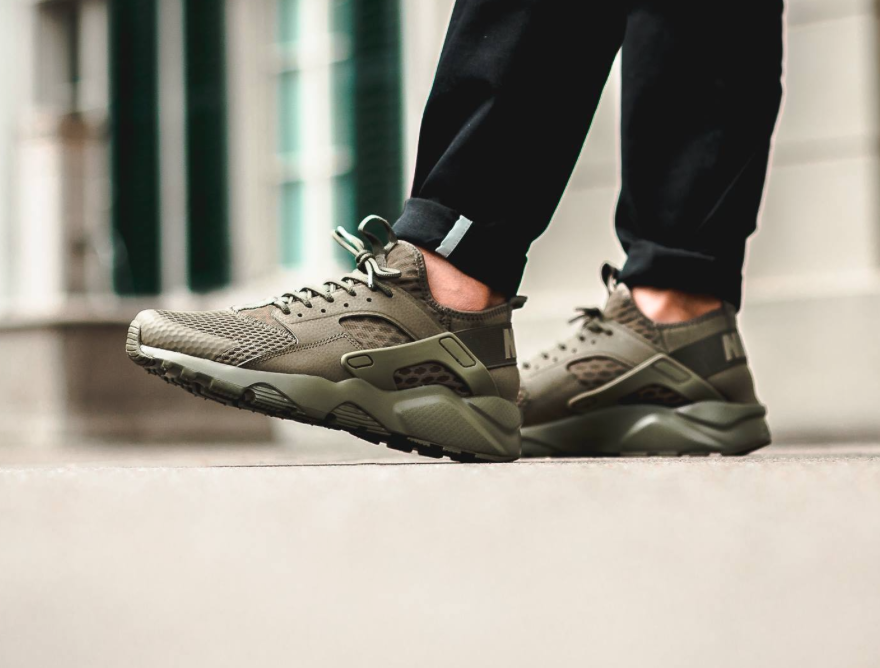 new concept 4360a 10293 Air Huarache Ultra Breathe Olive – Vander Sneakers | Malaysia Online ...