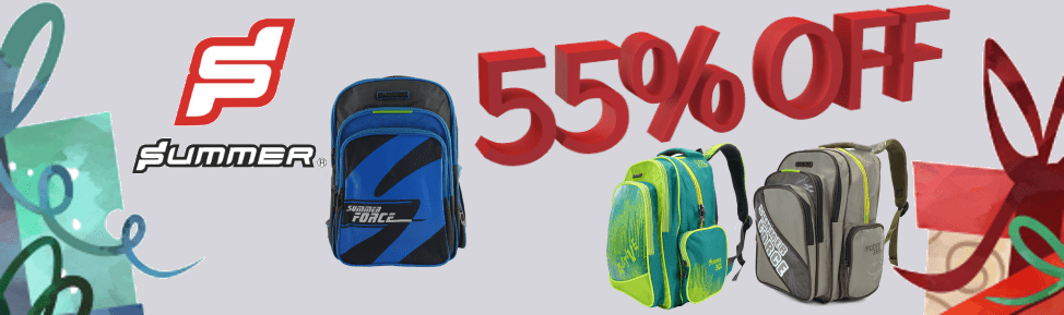55% off Summer School Bags