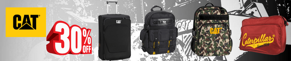 Caterpillar Luggage and Bags 40% Sales